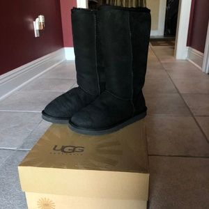 UGG Women's Classic Tall Boots Black